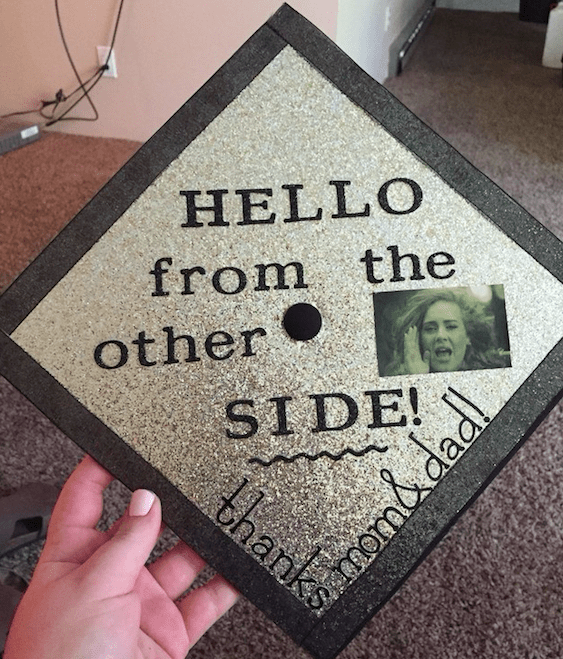 This perfect use of an Adele quote: