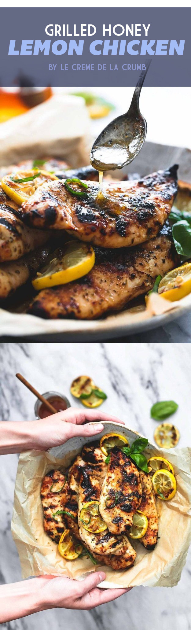 Grilled Honey Lemon Chicken