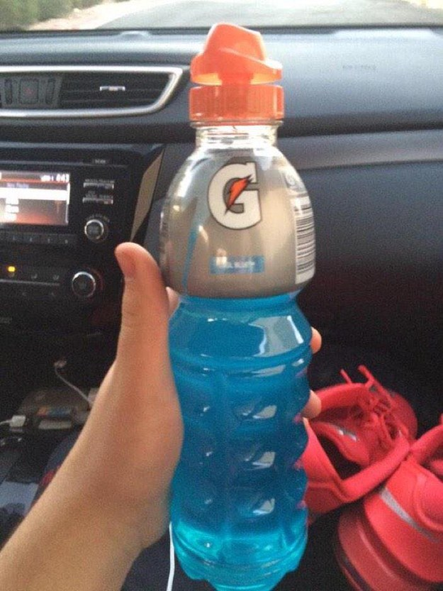 Gatorade is way better out of this bottle: