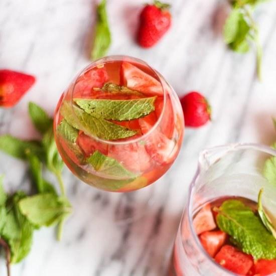 Strawberry Watermelon Sangria