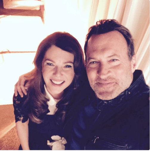 Well, it's nine years later and Luke Danes himself, Scott Patterson, posted this selfie with Lauren Graham after wrapping the revival, Gilmore Girls: Seasons!