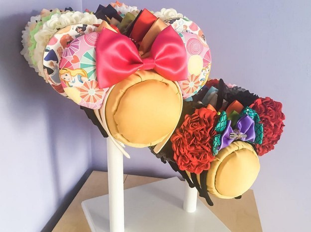 You have a crazy amount of mouse ears.