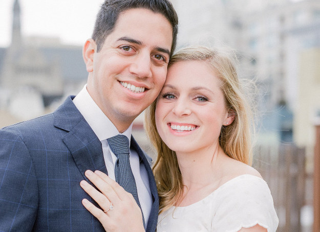 This is Shanna Wagnor and her fiance Sean Lewis. The San Francisco-based couple is getting ready to tie the knot this June, the bride-to-be told BuzzFeed News.