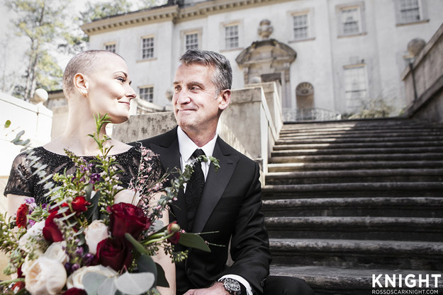 Dede Daniel has a lot on her plate — not only is the mother of two planning a wedding to her fiancé Stephen Long, she's battling stage 2 breast cancer. Thanks to the kindness of strangers, she recently did an engagement photo shoot fit for royalty.