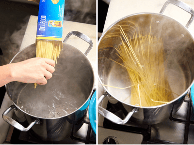 How to cook pasta perfectly.