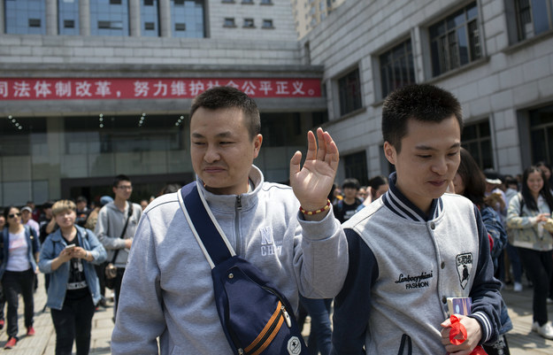 If their faces are a little familiar to you, good eye! They made headlines last month when their challenge to the official interpretation of Chinese marriage law — the first lawsuit in China to do so — failed.
