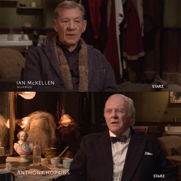 Set in World War II London, The Dresser follows Sir (Anthony Hopkins), an ailing actor, and his devoted dresser, Norman (Ian McKellen).