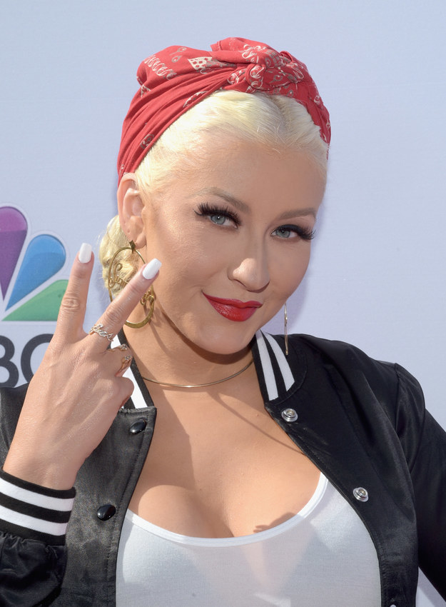 This is Christina Aguilera.