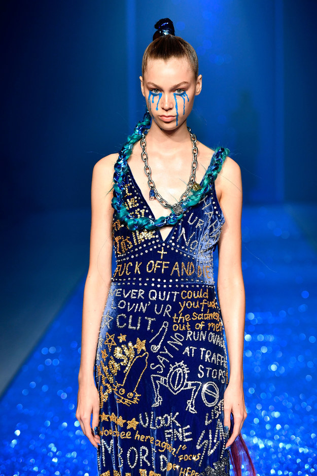 The brand is well-known for its bright, wild designs but last night's show at Mercedes-Benz Fashion Week Australia really took things to a whole new level.