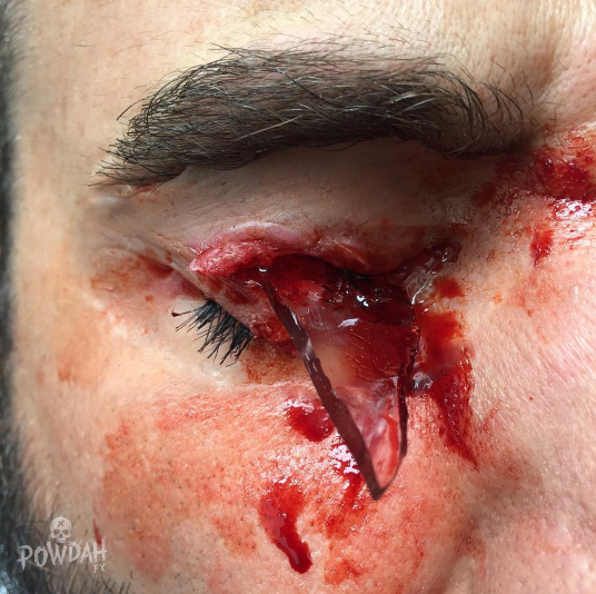 Instagram users can't get enough of this guy's insanely horrifying special-effects creations.