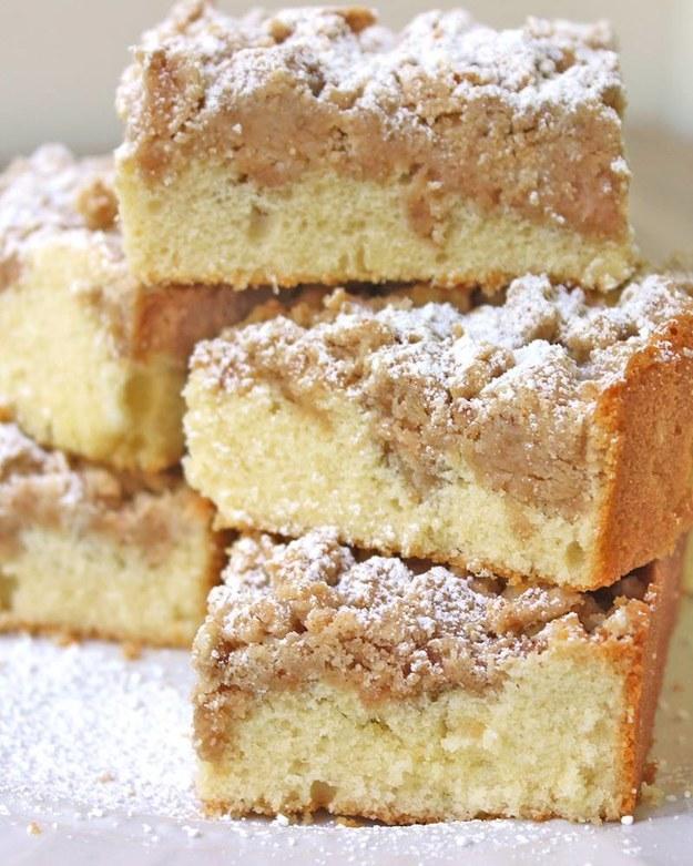 New York Crumb Coffee Cake