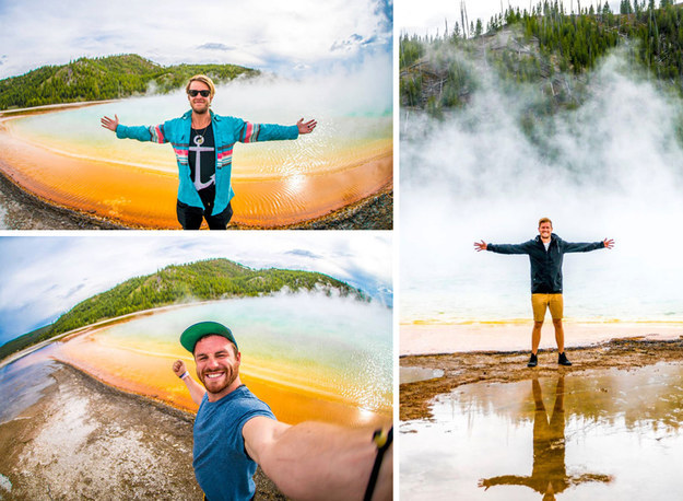 A group of Canadians is facing federal misdemeanour charges in the United States for walking onto a protected natural site to take photos for their YouTube travel series.