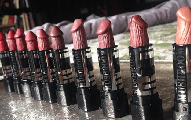 THEY ARE PERFECT LIL' VEINY LIPSTICKS, ER, LIPDICKS IN A MULTITUDE OF WEEN SHADES.