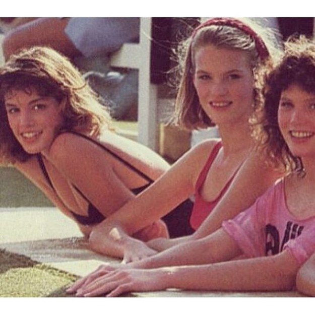 Cindy Crawford took us back to 1983, when she was in Acapulco auditioning to be a model.