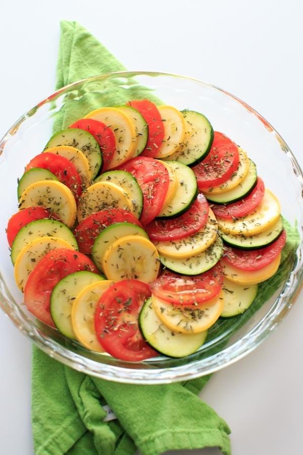 3. Healthy Squash and Tomato Casserole