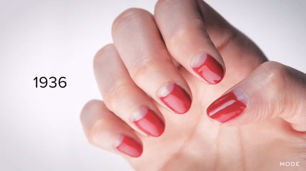 That all changed in 1932, when Revlon became the first established polish brand, leading to the rise of painted nails.