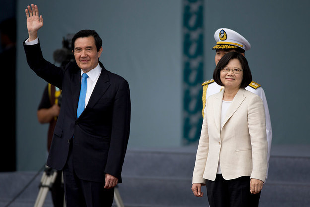 Tsai, the chairperson of Taiwan's Democratic Progressive Party (DPP), took her oath of office on Friday, after a landslide election victory in January over the 13th President, the Nationalist Party's Ma Ying-jeou.