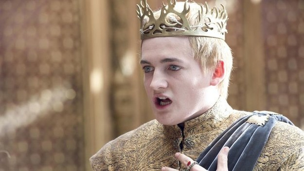 Let this picture of Joffrey serve as a warning: SPOILERS FOR THIS WEEK'S GAME OF THRONES FOLLOW!