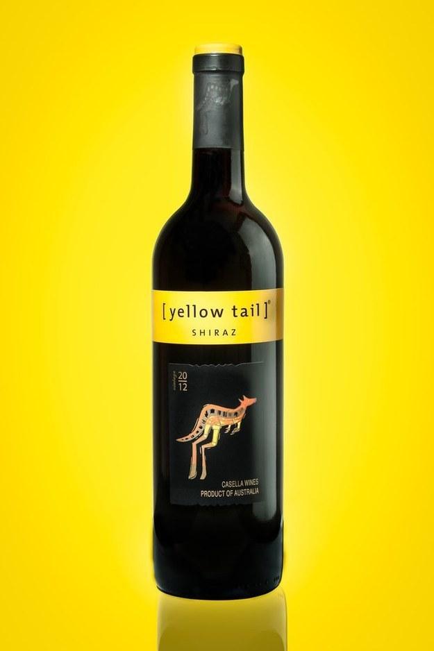 Yellow Tail Shiraz, $7.99