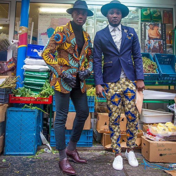 The crew share an Instagram where they post hot as hell photos of themselves in fly outfits.