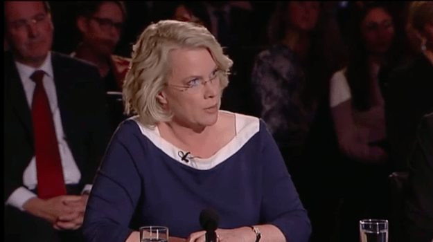 The first question in Sunday night's leaders' debate was from the Australian Financial Review's political editor Laura Tingle, who asked Malcolm Turnbull whether he accepted that voters were disappointed with him since he became PM.