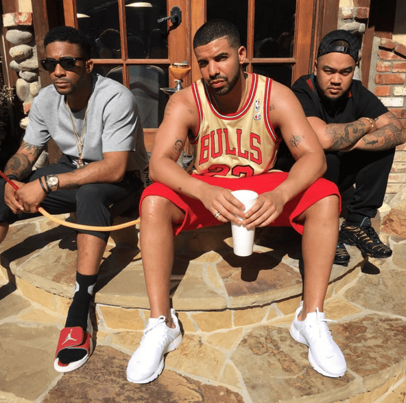 Yesterday, Drake celebrated Memorial Day with a big ole' pool party at his Calabasas mansion, YOLO Estate.