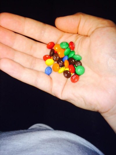 Mini M&M's are better than normal-size: