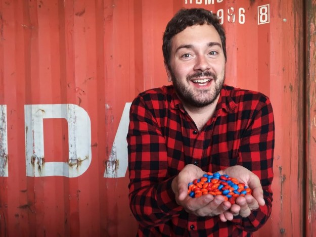 """But not for Henry Birdseye, a 31-year-old product designer from Chicago, who first — as a joke — personalized some M&Ms about """"apologizing for accidentally macing my stepdad"""" on their website."""