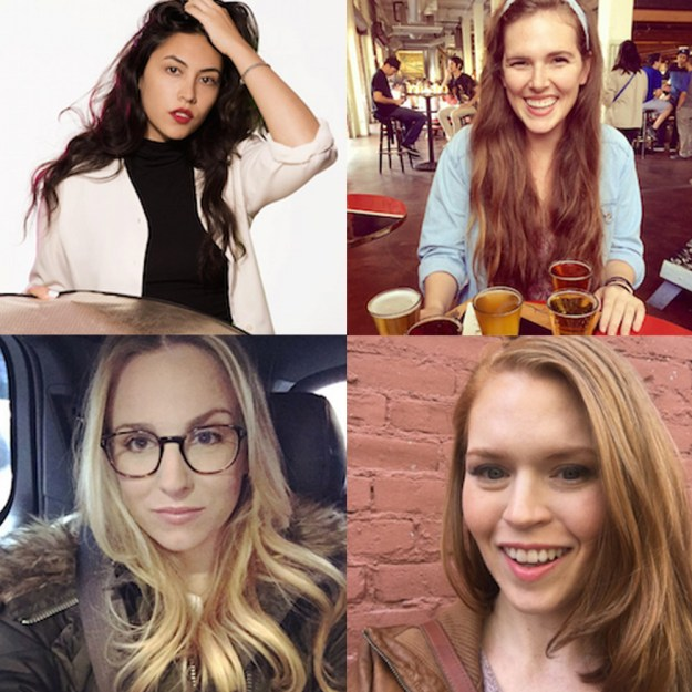 Hello. We're Macey, Casey, Keely and Erin. We're just four super normal chicks with one thing in common: We're secretly horror movie superfreaks who long to be zombies.