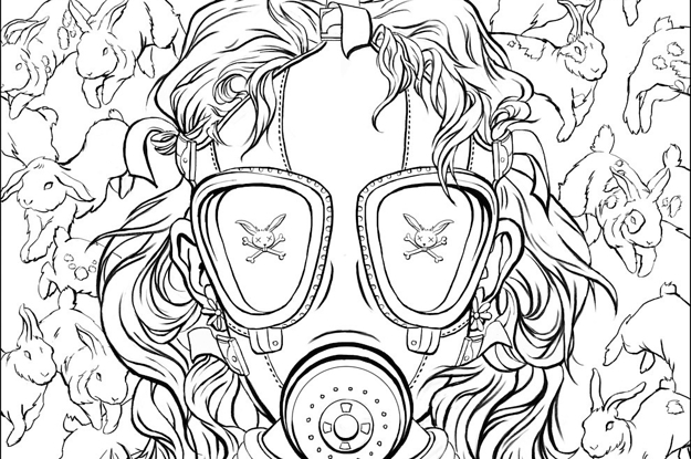 Here's The First Look At Chuck Palahniuk's Coloring Book