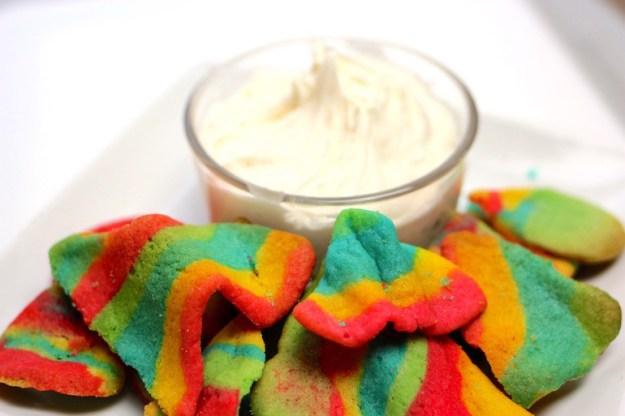 Rainbow Sugar Cookie Nachos