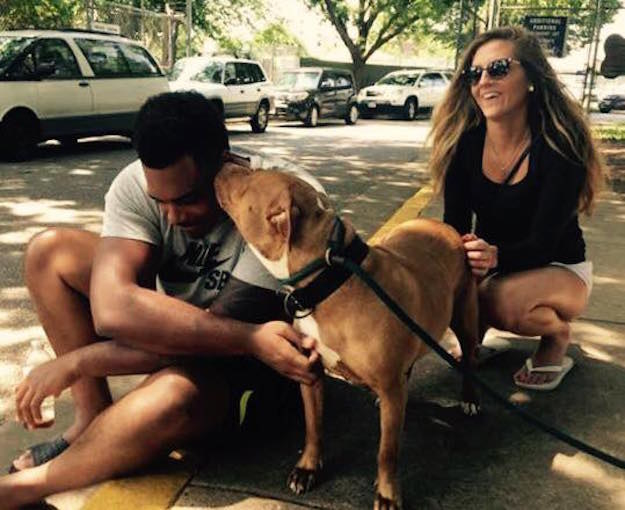 "Baltimore Ravens offensive tackle Ronnie Stanley scored a major touchdown with a local animal shelter and pet lovers alike when he took home a ""not-so-adoptable"" dog."