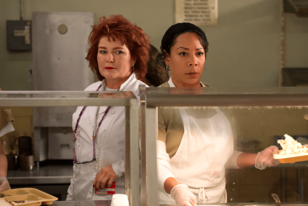 So what questions do you have for Red (Kate Mulgrew) and Gloria (Selenis Leyva) ahead of the new series?