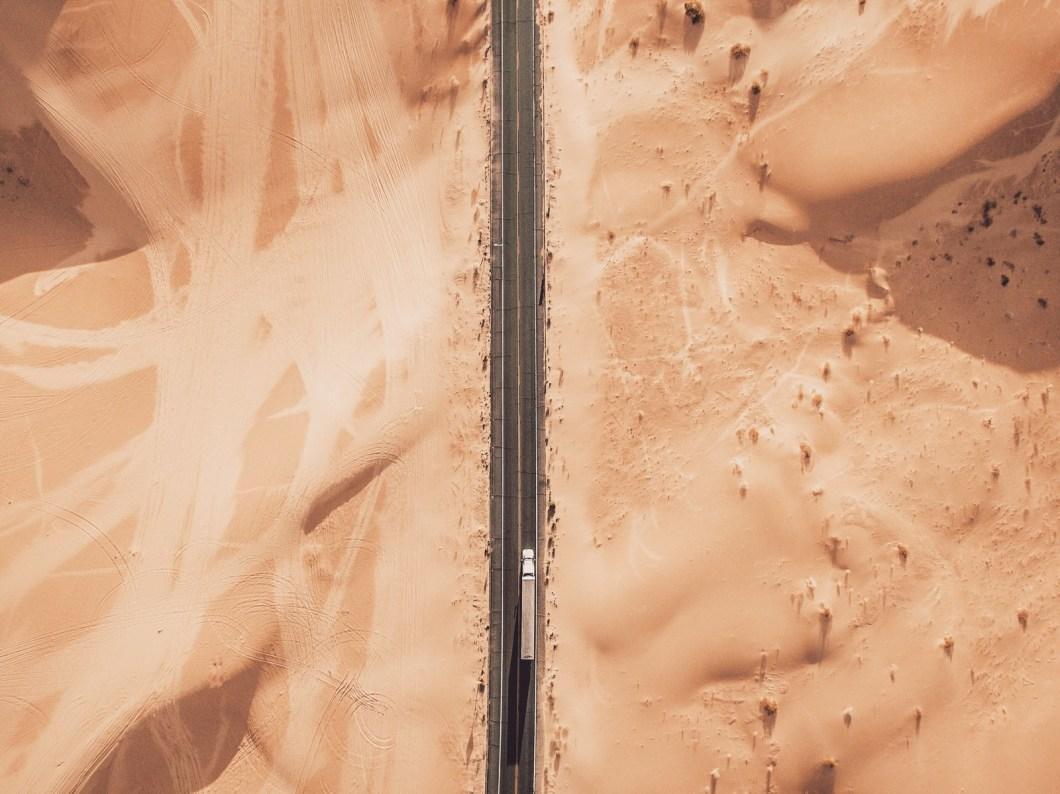 The dunes of Riverside, California