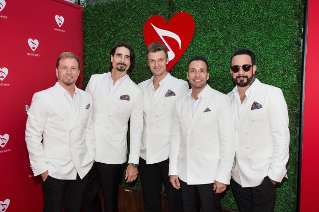 ...And the Backstreet Boys in 2016.