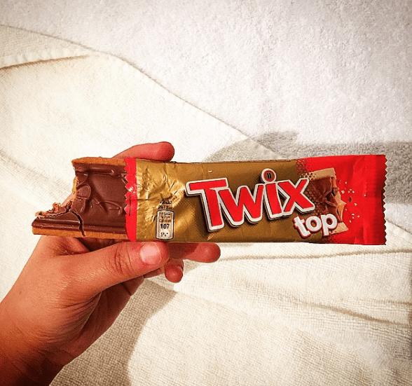 Twix Top bars.
