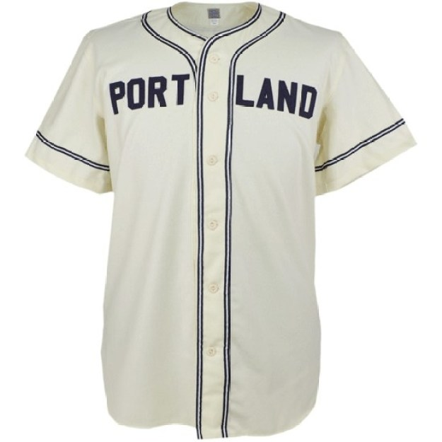 An authentic throwback baseball jersey, $136.50