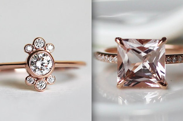43 Stunning Rose Gold Engagement Rings That Will Leave You