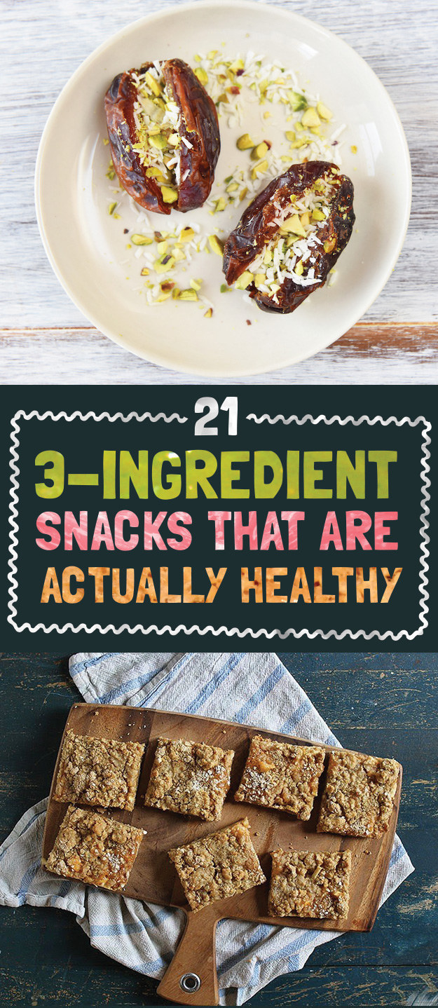 Make your own healthy snacks. These are so easy to throw together, you really have no excuse not to.