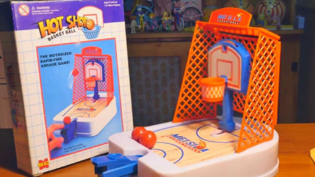 Your kid won't get to play Hot Shots Basketball.