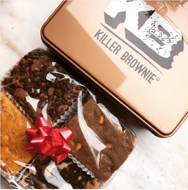 Crazy caramel brownie creations from Killer Brownie, OH.