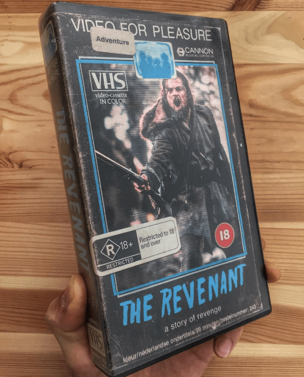 For six months, Vancouver-based artist Steelberg has been creating VHS cases for popular movies.