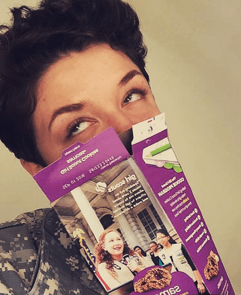 There's nothing better than a classic Girl Scout cookie, fresh from the box, right?