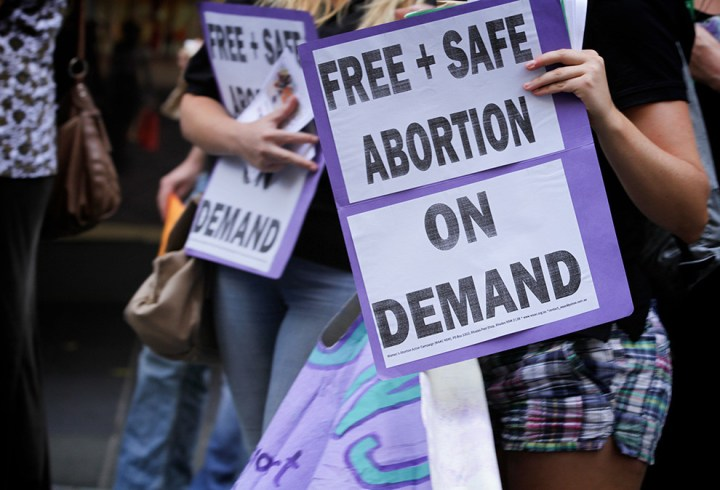 """Faruqi paid homage to the decades of campaigning by """"generations of feminist activists, doctors, lawyers, and people in the community"""" to repeal the criminal laws governing abortion."""