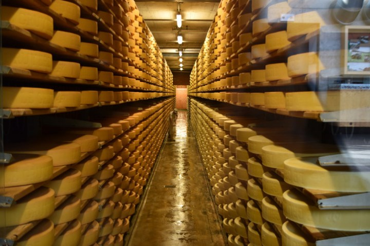 The United States faces a serious problem: a massive cheese glut.