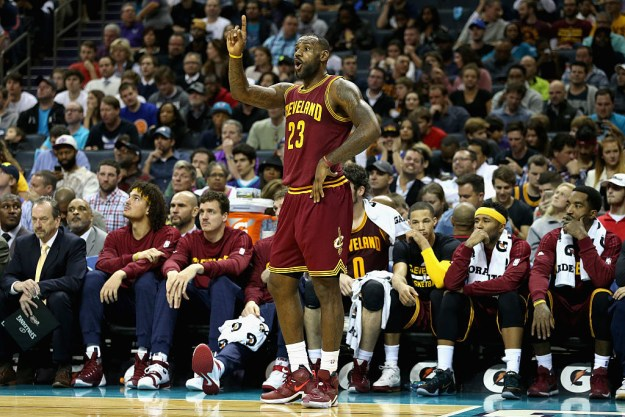 For reference, LeBron (who is not competing in this year's Olympics) is 6-foot 8-inches tall and weighs 250 pounds.