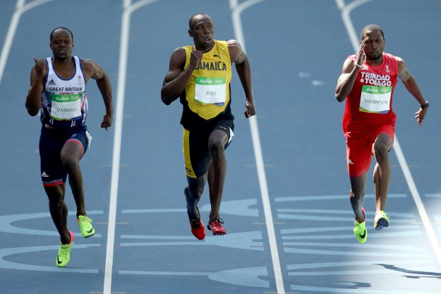 Usain Bolt is the defending gold medal Olympics sprinter, a world recorder holder, and the fastest man alive.