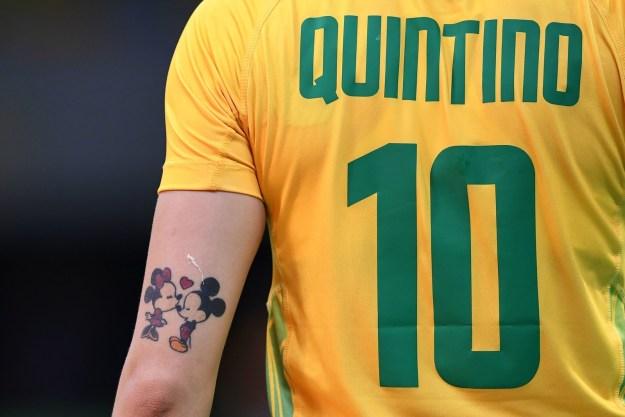 Y por si te lo preguntabas, también hay tatuajes lindos.