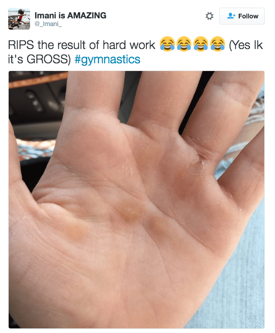 But the truth is, gymnasts are fucking HARDCORE.