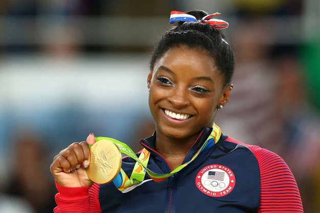 If you've been watching the 2016 Summer Olympics, you've probably heard the name of one gymnast a whole lot: Simone Biles.